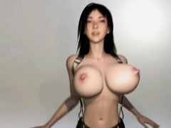 Big breasted 3D anime babe gets fucked hard