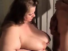 Amateur Mature BBW Sucking And Fucking