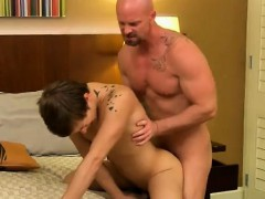 Gay porn bikers initiate new boy toy In part two of trio Twi