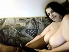 BBW Plays With A Big Dick