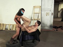 Roman suck Vadims dick and got ass fuck