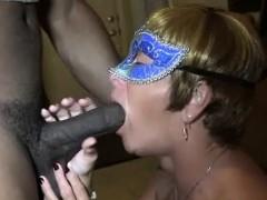 Mature wife BBC cuckold queen