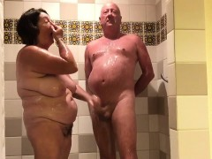 Enjoying in the that is shower