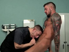Dolf bends Bryan Cole over and fucks that ass like no other