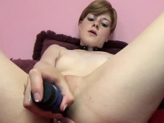 Ava Little Is Stuffing A Dildo In Her Hot Ass