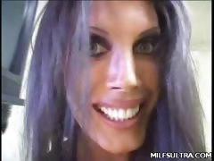 Busty MILF Shay Masturbating