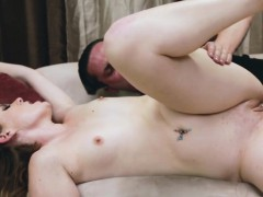 Little Tits Stacey Leann Sucking Dick and Boned Heartlessly