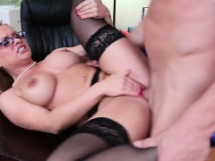 Sexy Big Tits Blonde MILF Fucks Young Cock Katja Kassin