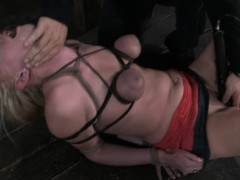Allie James Skull Fucked And Pussy Drilled