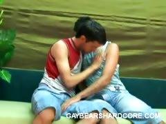 Nasty Gay Bear Foreplay