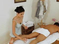 Sweetheart Performs Relaxing, Yet Naughty Massage For A Dude
