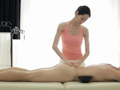 Masseuse Judy C Massages Clients Big Cock