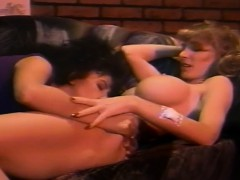 Lesbian With Big Boobs Fucks Her Blonde Sexy Gf