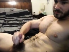 Hairy Male Masturbating For A Couple Of Gay Porn Holejam Com