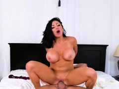 Milf Gets Anal Licking And Destroying Fucking