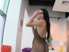 Perfect Model Reveals Enormous Ass And Gets Anal Plowed