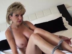 Adulterous English Mature Lady Sonia Flashes Her Oversized B