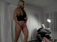 Husband Voyeur Likes To Watch Own Wife In Action