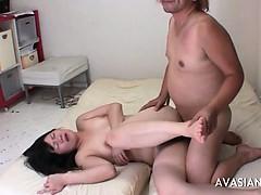 Extreme hairy pussy banging