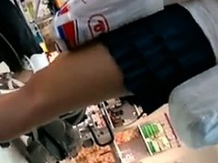 MILF With Great Legs At The Store
