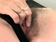 granny pussy fingering scene