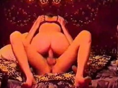 Russian wife in homemade porn video tape