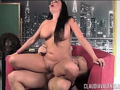 Claudia Valentine Gets Her Ass Redound by Derrick Pierce