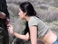 Sexy latina babe Kimberly gets drilled by a man in uniform