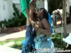 Young Buck Bangs Horny Pregnant Whore
