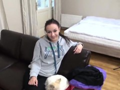 Stunning czech girl gets teased in the supermarket and fucke