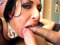 Sexy MILF gets a double penetration