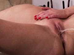 11-11-2016 - attractive fetish anal actions with latex and b