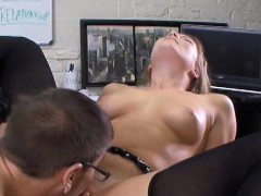 Extra Credit Fuck Session With Cute Blonde Aurora Snow
