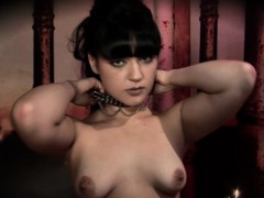 German babe Lilly drills her pussy with sex toys