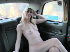 Horny Holland blond loves drivers cock fucking her hard