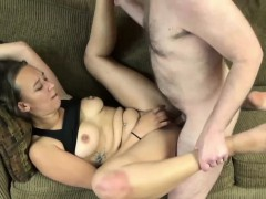 Nicci Taylor takes some dick from a geek