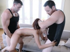 Hot Elle gets a threeway sex with Will