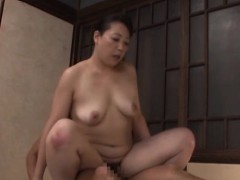 Alluring oriental older mounts hard dick and rides it wildly