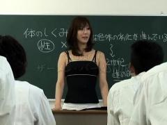 Japanese girl Beautiful baby threesome sex Hardcore fucking