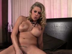 Charisma Cappelli Toyes Her Shaved Pussy