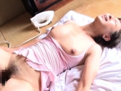 Helpless Doxy Ends Up Being Filled By Several Horny Men