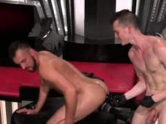 Gay sex cum in mouth xxx Aiden Woods is on his back and