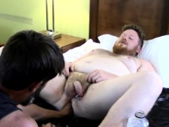 Gay older fist Sky Works Brock's Hole with his Fist