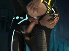 Tron 3d Porn Parody Video