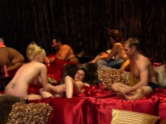 Red Room Participants Engage In Swinger