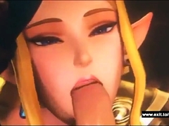 Two Princesses Share A Dick And Cum