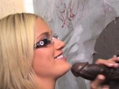 Adrian Olsen Takes Black Monster Cock - Gloryhole