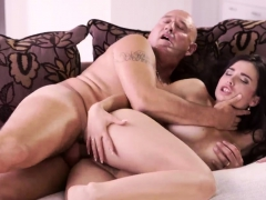 Old Wife First Time Rough Fuck-fest For Handsome Latina Babe