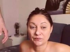 10 Amateur Facial Cumshots Vol. 12