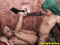 Asian Shemales Loves Fucking Each Other Anal